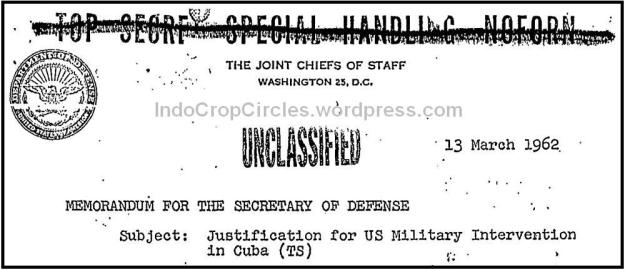 Operation northwoods Cuba