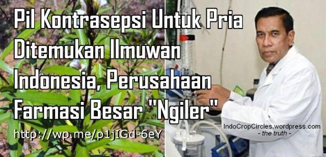 Pil Kontrasepsi Untuk Pria ditemukan ilmuwan Indonesia banner