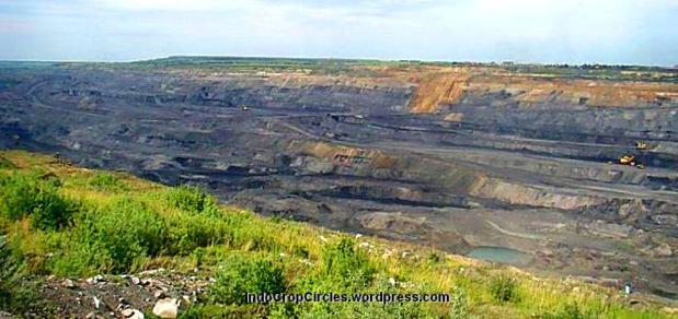Tambang batubara  Kuznetsk Basin di Russia. (Image Credit: CC BY 3.0 Rvetal)