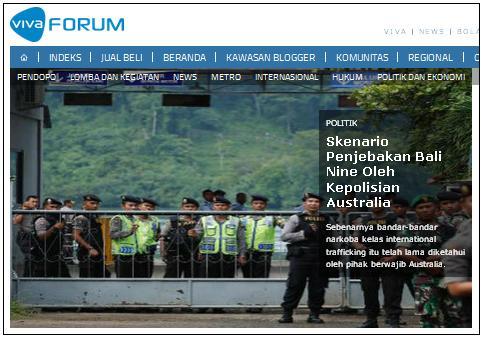 Bali Nine Dijebak Oleh Kepolisian Australia