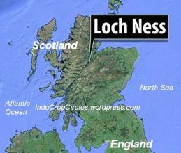 map Loch Ness, Skotlandia 01
