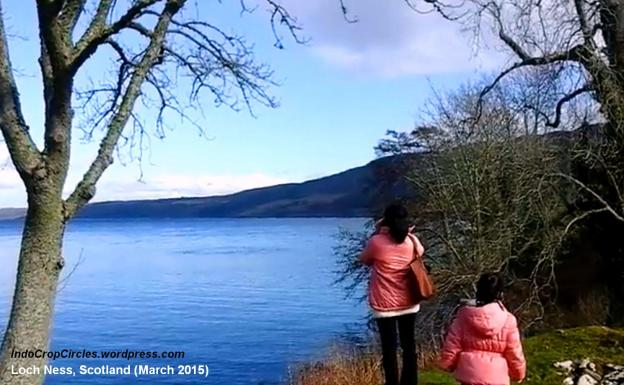 Nessie-monster Loch Ness, Skotlandia 01