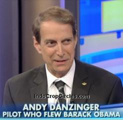 Andy Andrew Obama pilot saw ufo