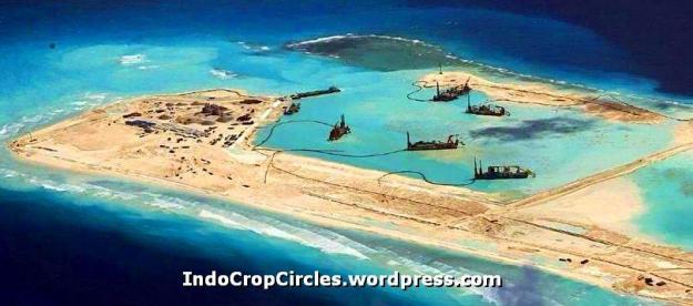 China RRT membangun bandara di Kepulauan Spratly