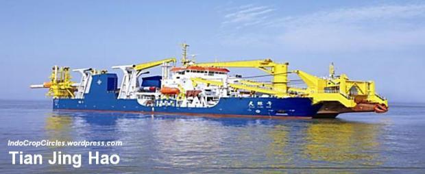 kapal Tian Jing Hao.
