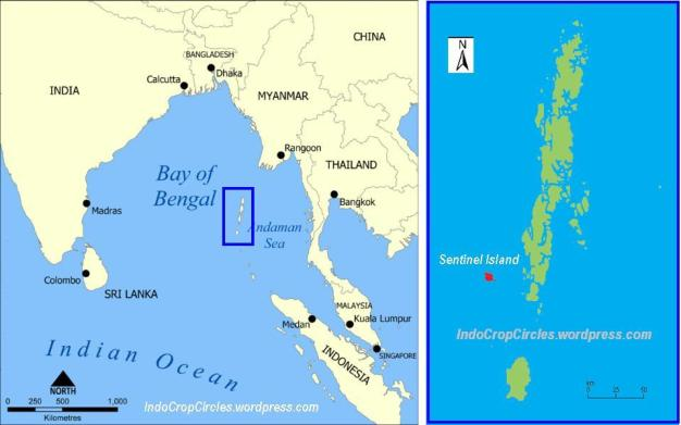 Pulau-Sentinel-Andaman map