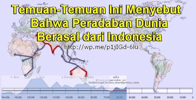 Temuan Ini Sebut Peradaban Dunia Berasal dari Indonesia header
