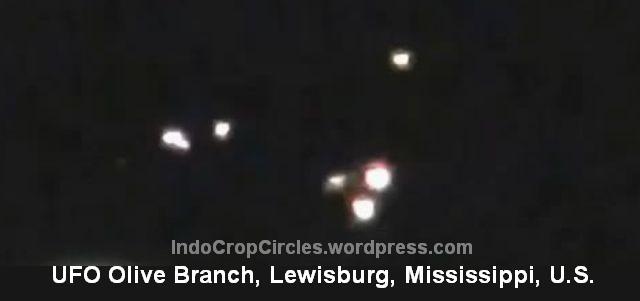 UFO Seukuran Lapangan Bola Tertangkap Kamera di Atas Mississippi AS 02
