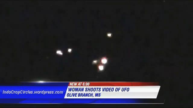UFO Seukuran Lapangan Bola Tertangkap Kamera di Atas Mississippi AS