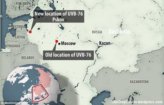 Pada tahun 2010 lokasi Buzzer dipindahkan dari dekat kota Povarovo, tidak terlalu jauh dari Moskow, yang dieksplorasi oleh Mr Evseev, untuk lokasi yang tidak diketahui bernama Pskov, yang berbatasan dengan Estonia, sebuah lokasi yang diperkirakan sebagai posisi baru berdasarkan triangulasi sinyal dari para penggemar radio.