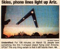 Sebuah gambar dari objek yang dibuat oleh saksi Tim Ley muncul di USA Today.