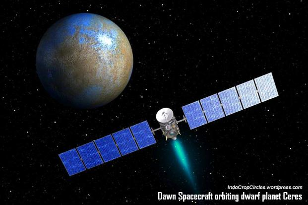 wahana nasa dawn orbiting planet ceres