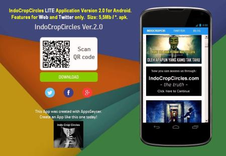 Download IndoCropCircles LITE Application Version 2.0 for Android