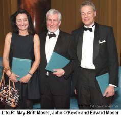 May-Britt Moser, John O'Keefe, Edvard Moser