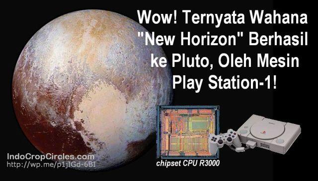 Ternyata Wahana New Horizon Berhasil ke Pluto Karena Mesin PlayStation-1 HEADER