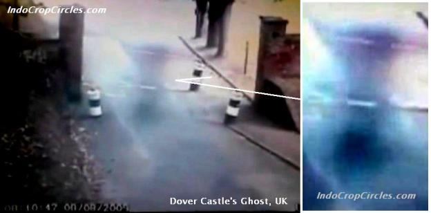 6 Hantu di Dover Castle, UK