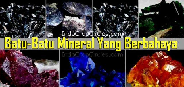 batu akik dan mineral berbahaya