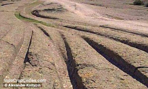 Jejak kendaraan zaman kuno