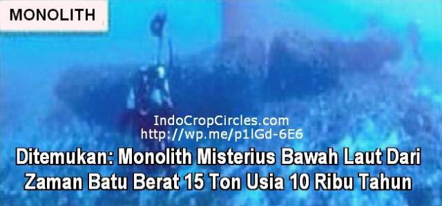 Monolit Misterius dari Zaman Batu Berat 15 Ton Usia 10.000 Tahun