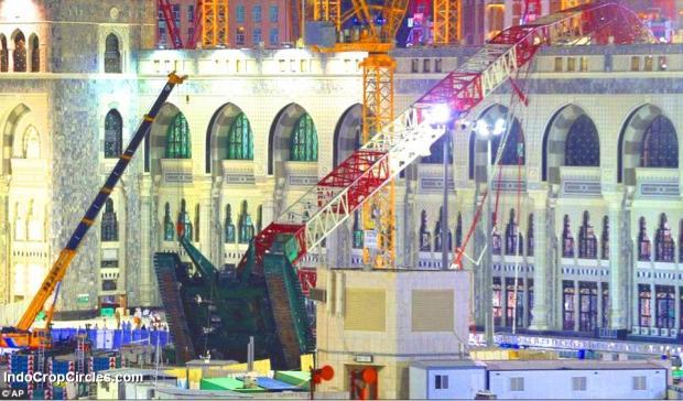 tragedi crane jatuh di mekkah - 01
