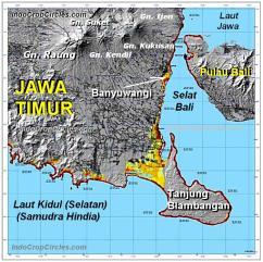 Peta Banyuwangi dan Blambangan