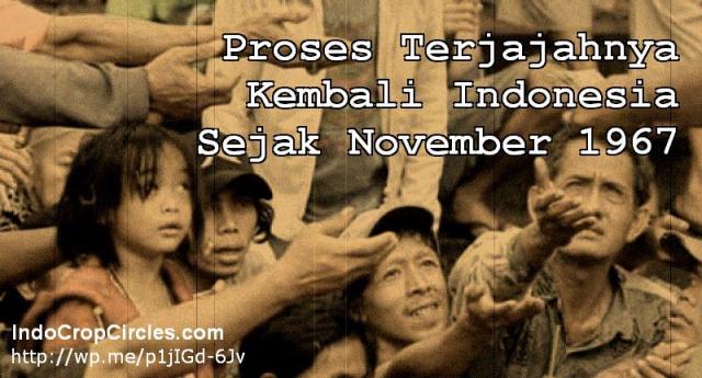 Terjajahnya kembali Indonesia 1967 banner