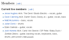 Eagles_of_Death_Metal members