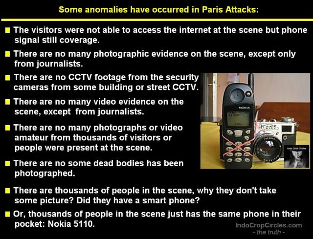 Paris Attacks anomalies