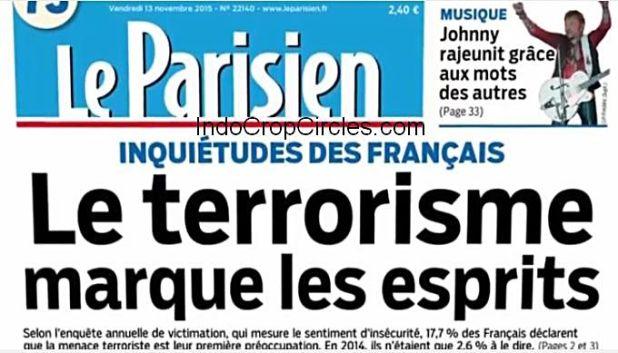 paris attacks false flag le parisien cover