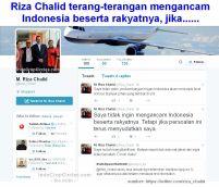 Riza Chalid twitter