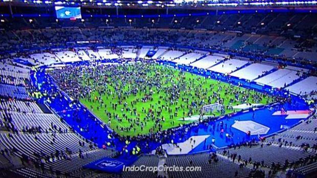 soccer france-germany paris attacks