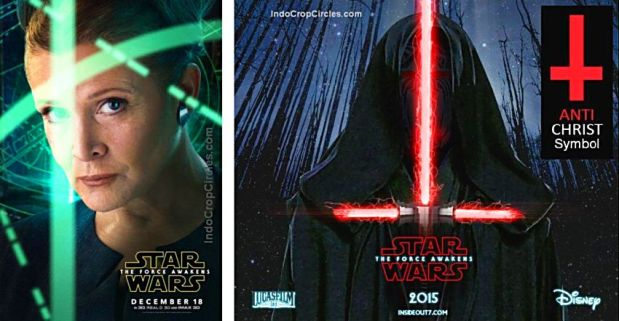 Star Wars The-Force-Awakens 2015 Antichrist