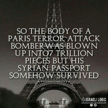 terrorist paris attacks passport