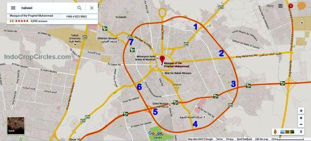 7 pintu-masuk-kota-madinah-google-maps