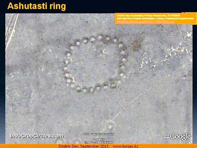Geoglyphs Kazakhstan Ashutasti Ring