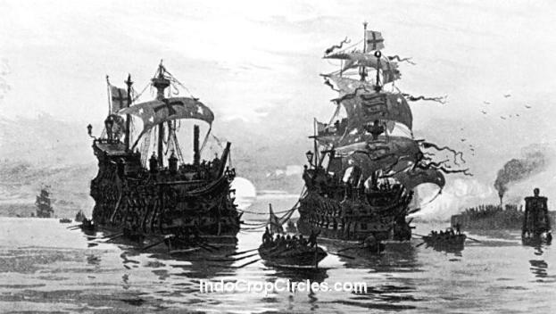 Kapal perang layar Kerajaan Inggris 01