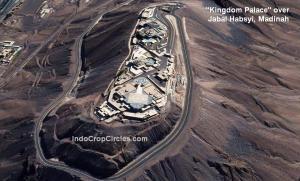 Kingdom Palace di atas Jabal Habsyi Madinah satelit 01