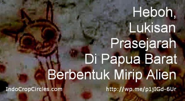 lukisan prasejarah papua-berbentuk-alien banner
