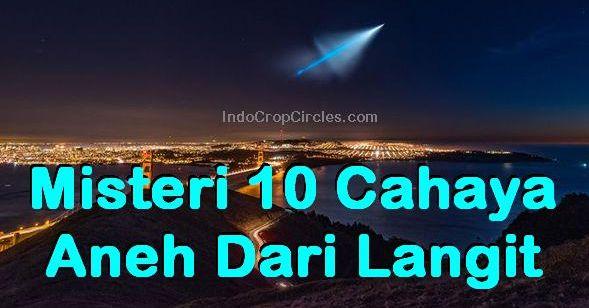 Misteri 10 Cahaya Aneh Dari Langit header