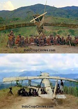 pesawat buatan tangan suku vanuatu pasifik
