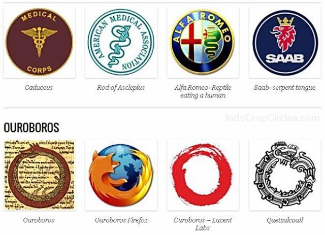 illuminati ouroboros-snake symbol