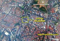 LOKASI TRAGEDI BOM JAKARTA 2016