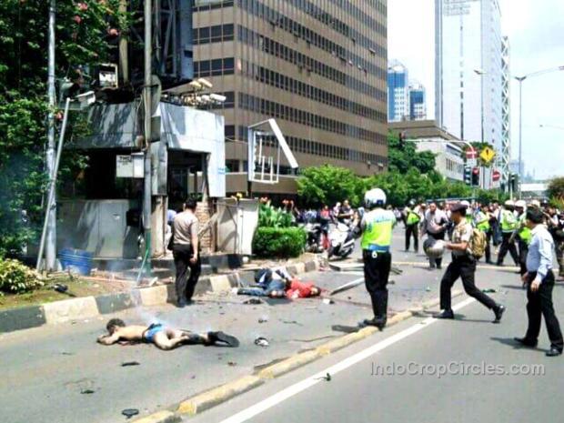 pelaku pengeboman dan penembakan di sarinah 6