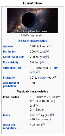 planet nine info