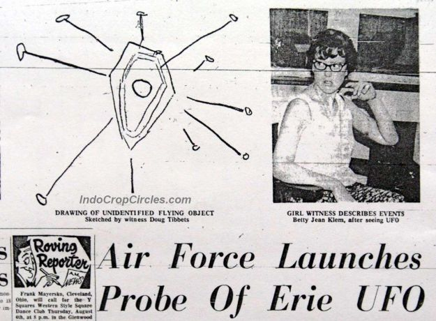 UFO dan Alien di Presque Isle State Park jpg