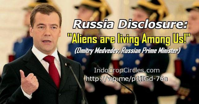 Dimitry Medvedev alien among us banner