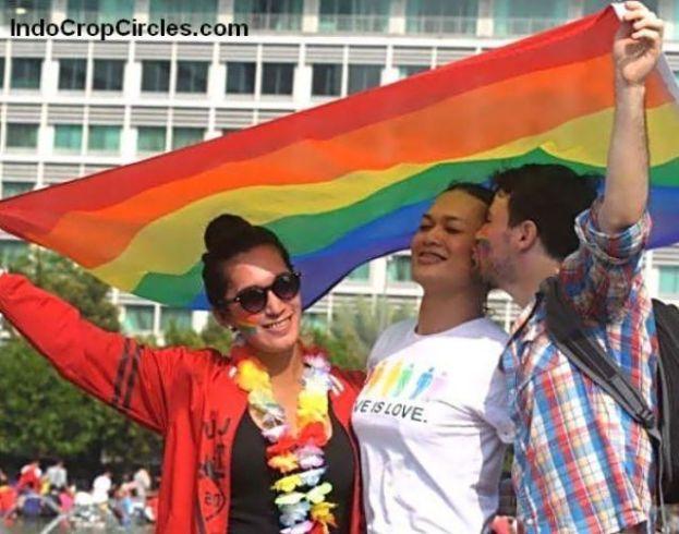 lapan6online.com -waria-gay-dan-lesbian-gelar-aksi-tolak-diskriminasi-di-bundaran-hi