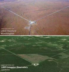 stasiun-bumi-gelombang-gravitasi-LIGO Hanford Washington dan -LIGO Livingstoe Observatory Lousiana
