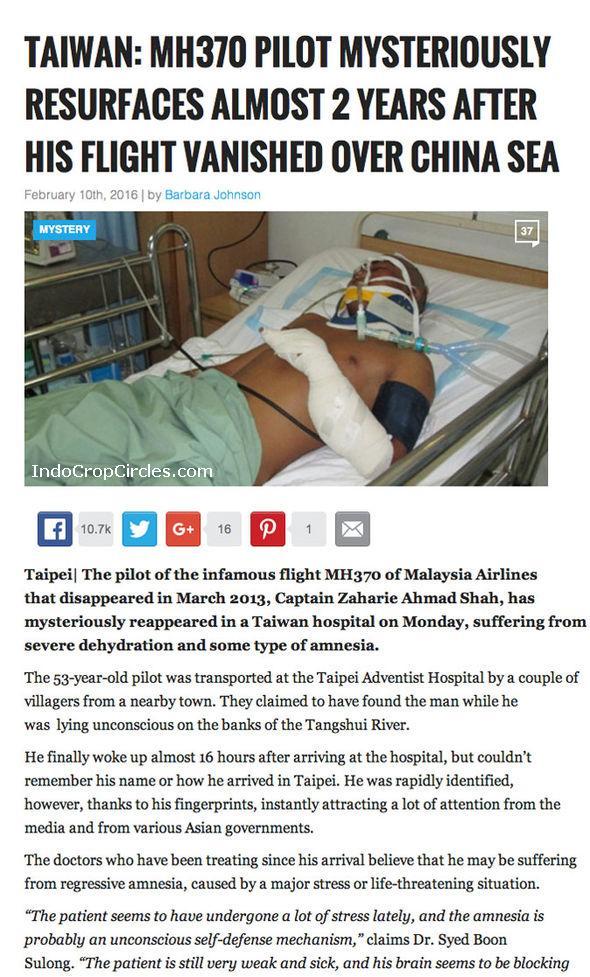 Zaharie Ahmad Shah MH370-pilot on hospital in Taiwan 01