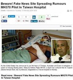 Zaharie Ahmad Shah MH370-pilot on hospital in Taiwan 03